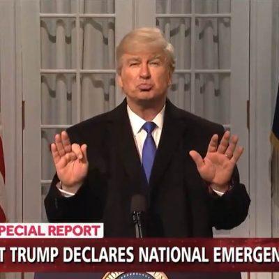 'SNL' and Alec Baldwin take on Trump's border security emergency – NBC News