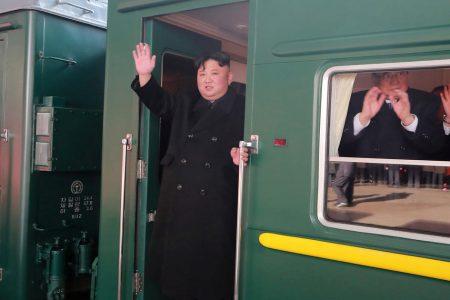 Kim Jong Un leaves on train for Vietnam summit – CBS News