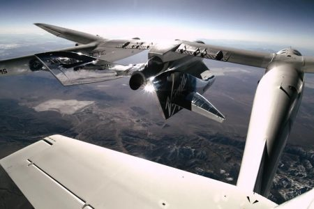 Watch Virgin Galactic pilots blast into space, view Earth from above – Mashable