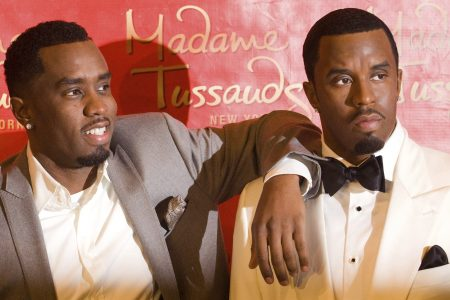 Vandal topples wax statue of Sean 'Diddy' Combs – The Associated Press