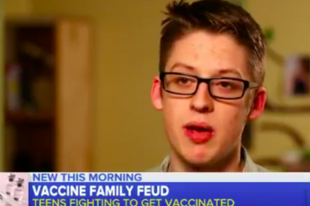 Teen Who Defied Anti-Vaxx Mom Speaks Out: Vaccinations Are 'Good And Beneficial' – HuffPost