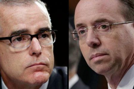 McCabe: Rosenstein's offer to wear wire was 'absolutely not' a good idea – Fox News