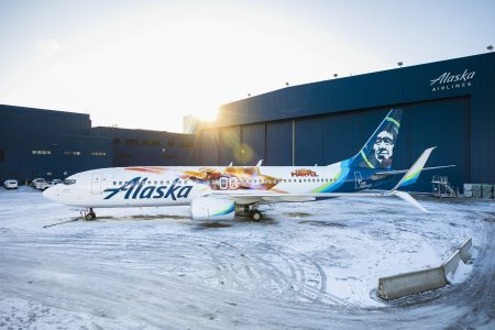 Alaska Airlines unveils new 'Captain Marvel'-themed plane at Seattle airport – Fox News