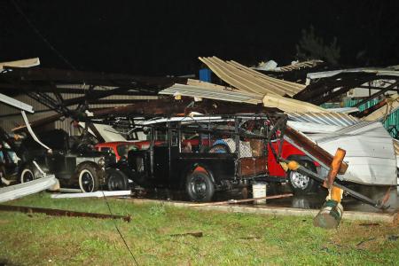 Heavy rain, floods, even a tornado as storms smack the South – Fox News