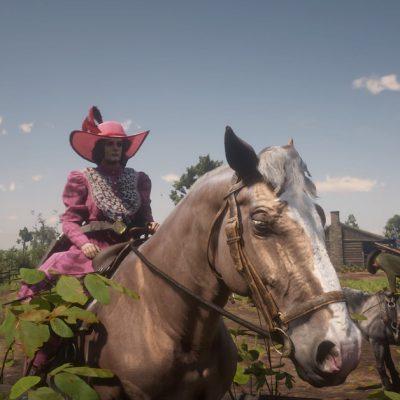 Red Dead Online players hate my Belgian Draft horse Hayseed – Polygon