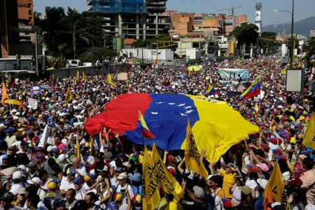 Venezuela's Guaido urges military defections amid protests – ABC News