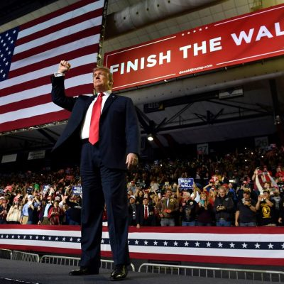 'Finish that wall': Trump seeks to turn his failure to build the wall into campaign rallying cry – The Washington Post