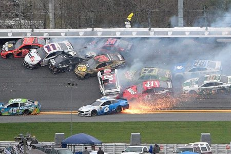 Jimmie Johnson causes big one, then wins Daytona Clash – Fox News