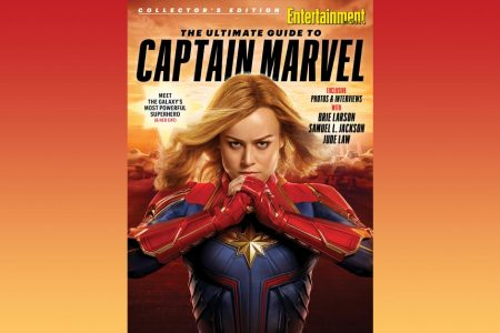 Brie Larson soars in EW's Captain Marvel collector's edition – Entertainment Weekly News