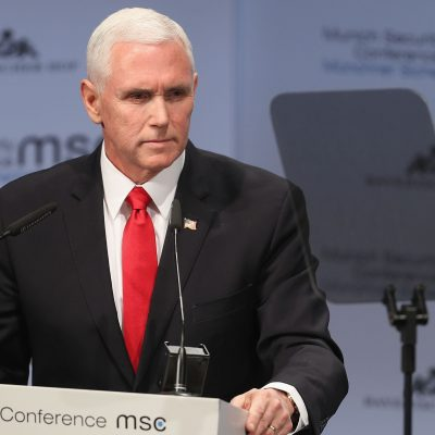 Mike Pence's mention of Trump during Munich speech gets no applause – USA TODAY