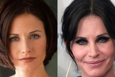 Courteney Cox's 'hard time' with aging resulted in a face of fillers she didn't recognize – USA TODAY