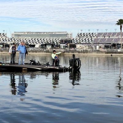 Why NASCAR's Daytona track has its own massive lake – For The Win