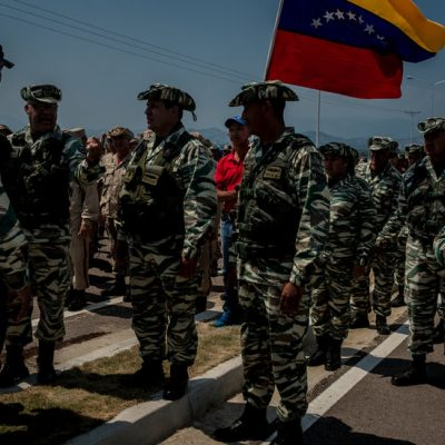 U.S. Military Starts Flying Aid for Venezuela to Colombia – The New York Times