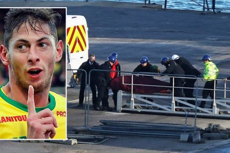 Team working on soccer star Emiliano Sala's plane crash carry body onshore after pulling it from wreckage – Fox News
