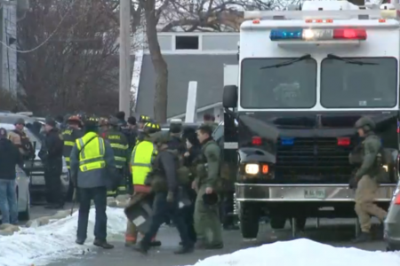"""Shooter in Aurora, Illinois, is """"no longer a threat,"""" police say – live updates – CBS News"""