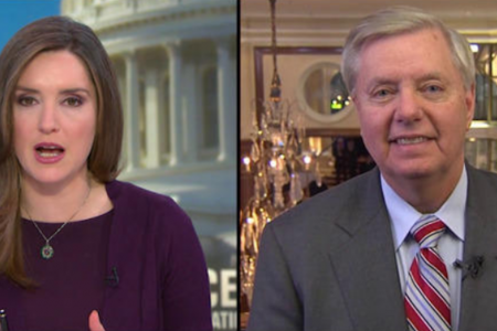 """Lindsey Graham says Trump has to """"do it on his own"""" to build the wall – CBS News"""