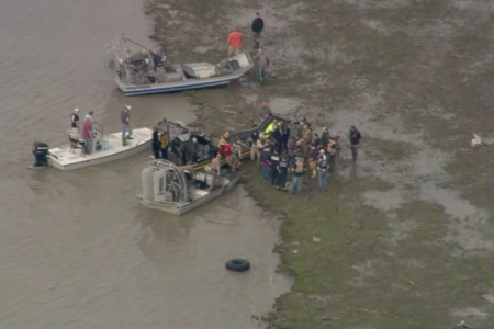 No likely survivors in Atlas Air Boeing 767 cargo jet in Trinity Bay near Houston, Texas, sheriff says – CBS News
