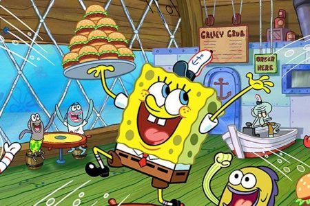 This Is Why SpongeBob SquarePants Was at the Super Bowl Halftime Show – IGN