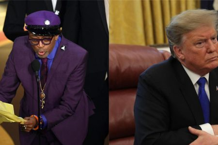 """Trump calls Spike Lee's 2019 Oscars acceptance speech a """"racist hit on your President"""" in tweet today – CBS News"""