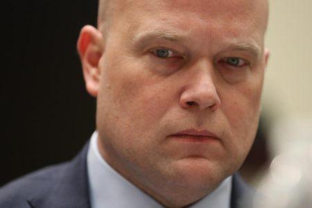 Matt Whitaker testifies he hasn't talked about Mueller probe with Trump — live updates – CBS News