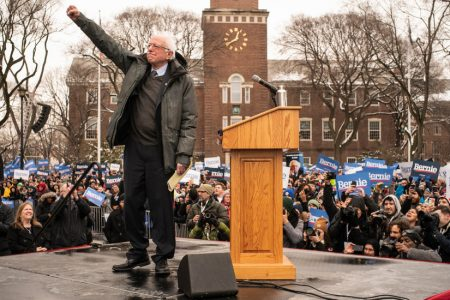 Bernie Sanders Begins 2020 Race With Some Familiar Themes and a New One: Himself – The New York Times