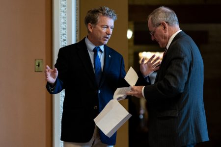 Rand Paul Opposes Trump's Emergency Declaration, Likely Providing Decisive Vote – The New York Times
