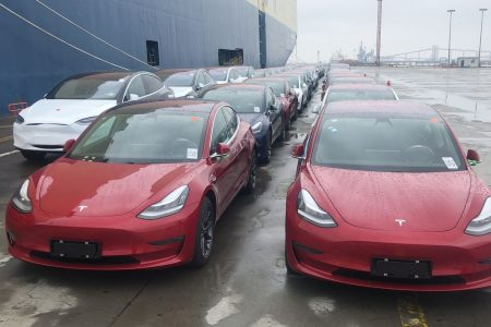 Tesla shares fall 4 percent despite China approval of Model 3 imports – CNBC