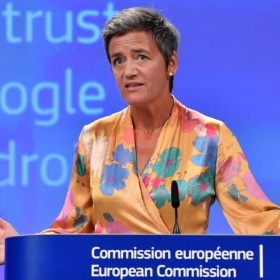 EU regulators hit Google with $1.7 billion fine for blocking ad rivals – CNBC