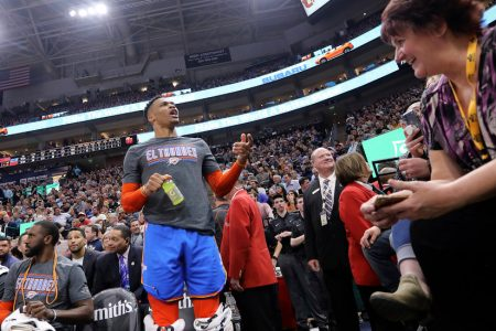Russell Westbrook Says Utah Jazz Fan Made 'Racial' Taunt That Led to Confrontation – The New York Times