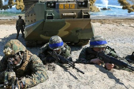 U.S. announces end to large-scale military drills with South Korea as Trump pursues nuclear diplomacy – NBC News
