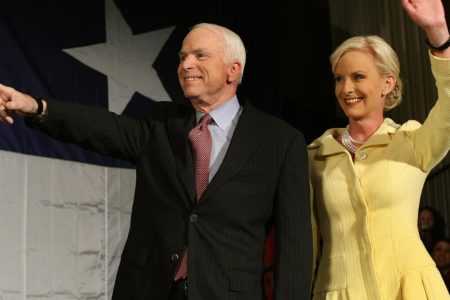 Cindy McCain posts stranger's hateful message about John McCain and their daughter – CNN
