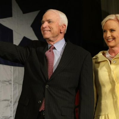 Cindy McCain posts stranger's hateful message about John McCain, their daughter – CNN
