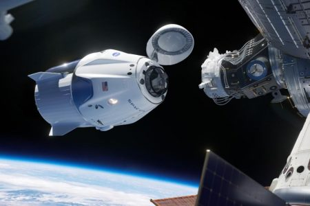 SpaceX Crew Dragon, built to carry humans, heads home from ISS – CNN