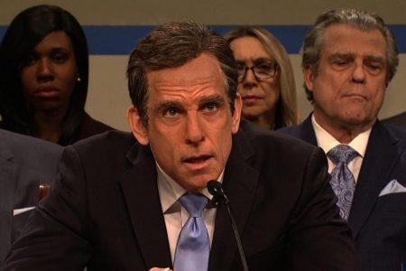 'Saturday Night Live' showcases the hearing of Ben Stiller's Michael Cohen – CNN