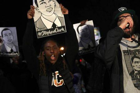Stephon Clark shooting: Dozens arrested during Sacramento protest – NBCNews.com