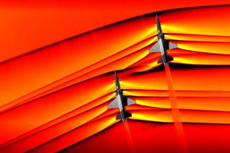 NASA captures 'first' images of supersonic shockwaves colliding in flight – CNN