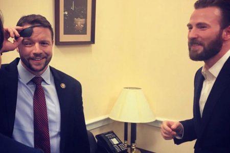Rep. Dan Crenshaw shows off his Captain America-inspired glass eye – CNN