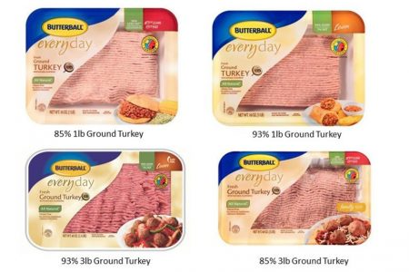 39 tons of Butterball ground turkey recalled after salmonella cases – CNN