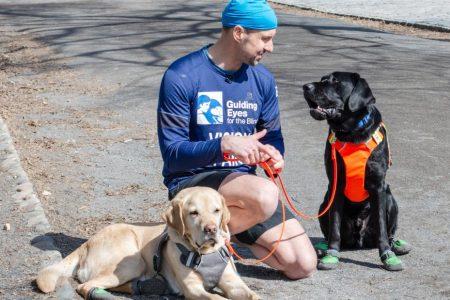 Blind runner, guide dog trio makes history in NYC Half Marathon – CNN