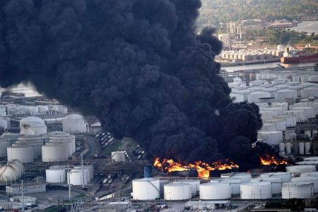 Houston-area chemical fire expected to burn for days – NBCNews.com