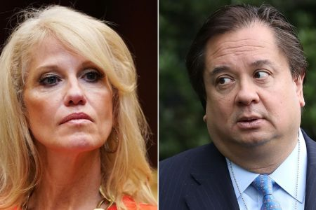 Kellyanne Conway's husband is trying to tell the public Trump is mentally ill. She doesn't agree – CNN