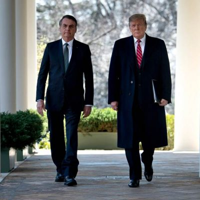 Trump praises Brazil's far-right president at White House – NBCNews.com