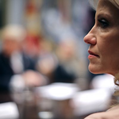 Kellyanne Conway defends Trump after he attacks her husband – POLITICO