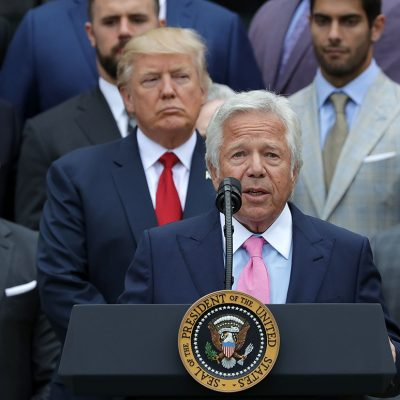 Trump wants Patriots owner Bob Kraft at White House despite prostitution bust – POLITICO