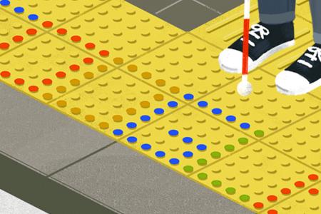 Google Doodle celebrates tactile paving inventor Seiichi Miyake – Mashable