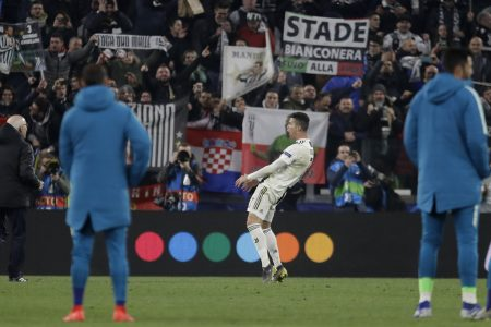 Ronaldo charged by UEFA for gesture mocking Simeone – Associated Press