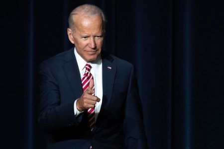 He's running — almost. Joe Biden gets ahead of himself in Saturday speech, to cheers from the crowd. – The Washington Post