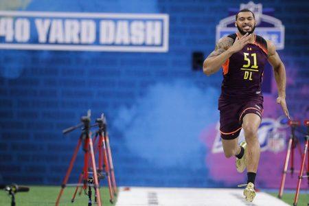 No sweat! Defensive lineman sets 40-yard dash record at NFL Combine – Fox News