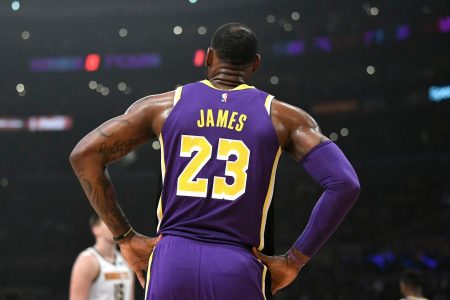 LeBron James passed Michael Jordan. Lakers fans passed their own judgment. – The Washington Post