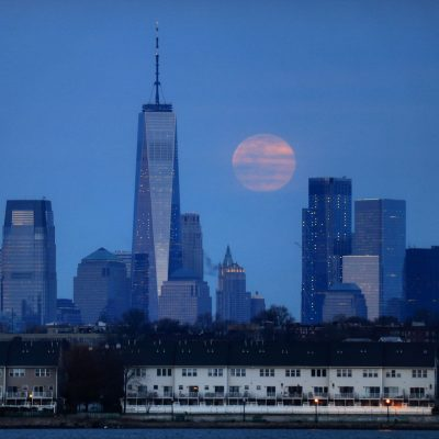 'Full worm supermoon' lights up the sky in stunning pictures – Fox News